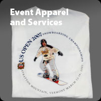 Event apparel printing